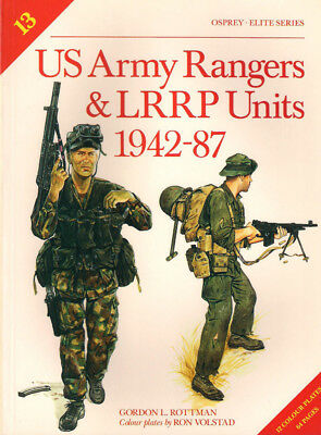 P60 Osprey - ELITE Series No 13: US Army Rangers & LRRP Units 1942-87