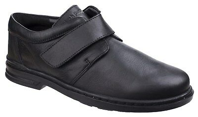 New Mens/Gents Black Hush Puppies Jeremy Hanston Casual Shoes
