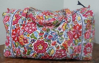 Vera Bradley 'HOPE GARDEN' 2009 ~ Large Duffel Bag~Great Pre-Owned Condition