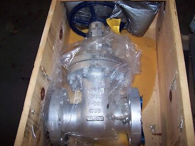 "New Bonney Forge 3"" Wcb Gate Valve 300 Flg"