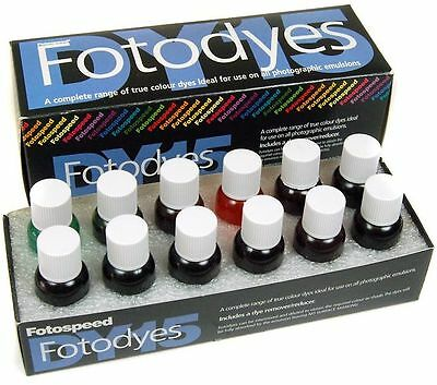 Fotospeed Dy15 Color Photographic Retouching Dyes