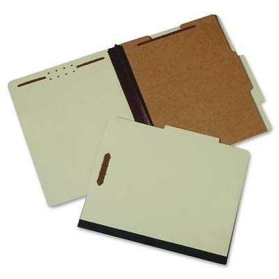 "National Industries For the Bl Classification Folders, 4-part,1 Div.,2"" Exp,Ltr"