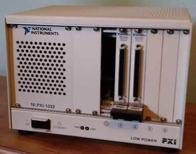 National Instruments NI PXI-1033 PXI 1033PXI Chassis w Integrated Controller