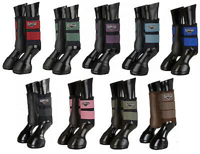 LeMieux ProSport GRAFTER Brushing Boots Black/Berry/Pink/Ice/Blue/Brown/Olive