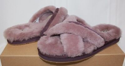 38d317b97 UGG ABELA DUSK Suede Slippers Shoes Pink New With Box! - $64.95 ...