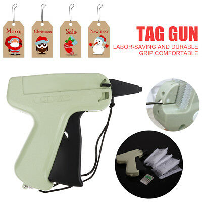 "Garment Clothing Price Label Tag Tagging Tagger Gun +1000 3"" Barbs + 5 Needles"