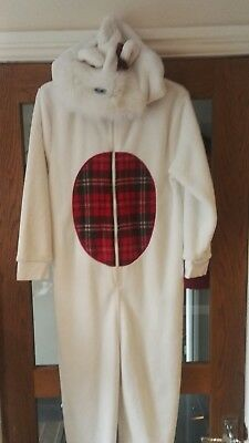 Supersoft Next Scottie dog one piece all in one pyjama age 11yrs...worn once