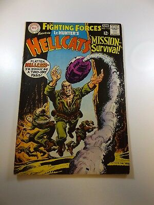 """Our Fighting Forces #113 VG- condition """"bottom staple detached from cover"""""""
