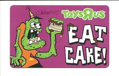 ToysRUs Monster Eat Cake Gift Card No $ Value Collectible Toys R Us