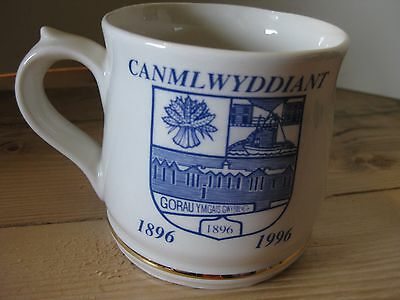 Felingwm Welsh Studio Pottery mug Aberaeron Comprehensive School Wales