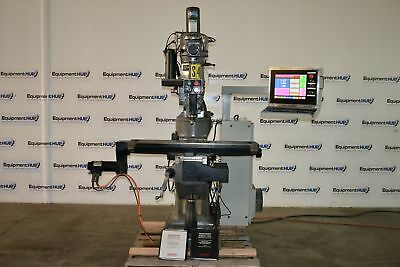 "Bridgeport V2XT 9"" x 48"" 3-Axis DX32 CNC Milling Machine"