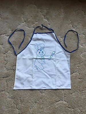 "Pillsbury Doughboy With Spatula Apron 18""x20"""