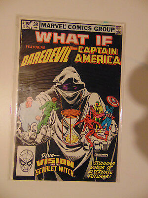 What If? #38 (Apr 1983, Marvel) Dardevil , Captain America / 0.99 Actions