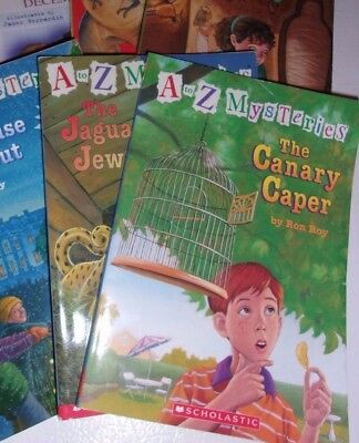 Lot of 6 Ron Roy Chapter Books A to Z Mysteries and Calendar Mysteries