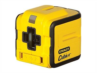 STANLEY 177340 Cubix™ Self Levelling Cross Line Laser Level. NEW.