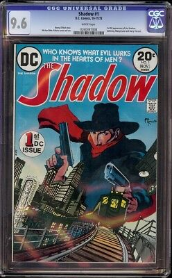 Shadow # 1 CGC 9.6 White (DC, 1973) 1st DC appearance of Shadow
