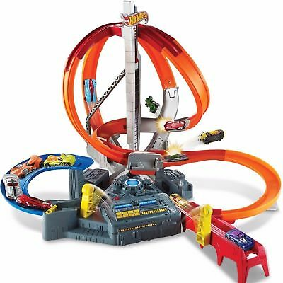 Hot Wheels Spin Storm Toy Car Track Play Set - CHRISTMAS DELIVERY