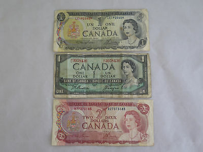 Lot of Vintage 1954-1974 Canada Currency