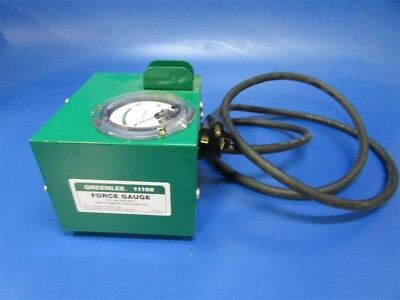 New Greenlee 11198 Force Gauge for use with Model 6501 Cable Puller
