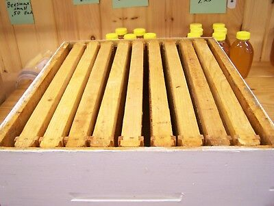 1 Langstroth Bee Hive 10 Frame Medium extracting super with 9 drawn frames box2
