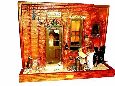 Michael Garman Diorama Yesterday's News Without Magic With Coa