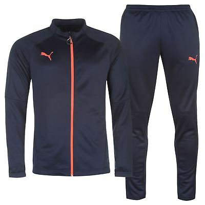 Puma Essentials Tracksuit Youngster Childrens Full Length Sleeve Zip Zipped
