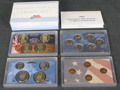 United States Mint Proof Set 2009 State Quarters And Presidential Dollars