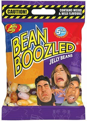 Jelly Belly Bean Boozled 4th Edition 54g Refill Candy Bags Crazy Flavours - New