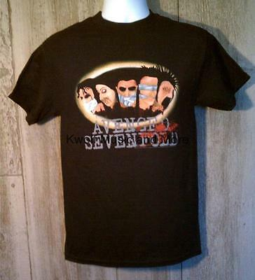 """AVENGED SEVENFOLD   T-Shirt   """"Gagged""""  Official/Licensed     Size:S   NEW"""