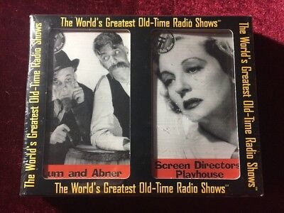 The World's Greatest Old-Time Radio Shows LUM & ABNER-SCREEN DIRECTORS CASSETTES