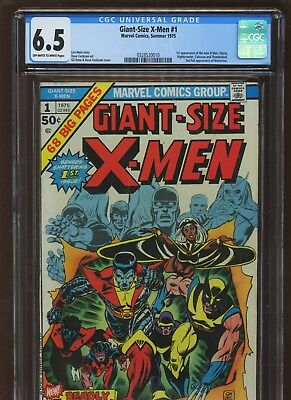 Giant-Size X-Men 1 CGC 6.5 FN+ | MARVEL 1975 | 1st All-New All-Different X-Men