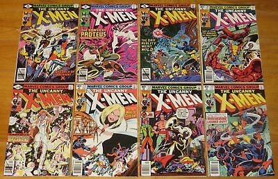 1979-1980 X-Men 8 Books No. 126 127 128 129 130 131 132 133 No Reserve
