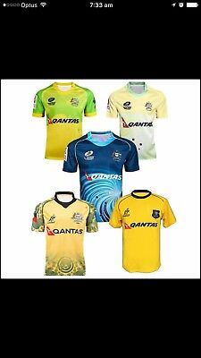 Wallabies Rugby Union Jersey