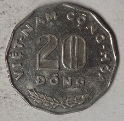 Vietnam (South) 1968 20 Dong Coin
