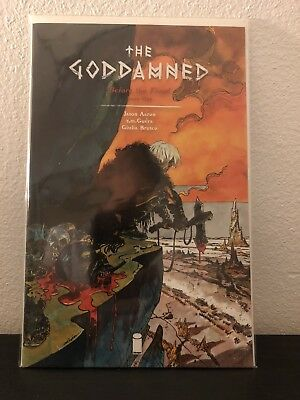 The Goddamned Before The Flood Issue #1 Jason Aaron