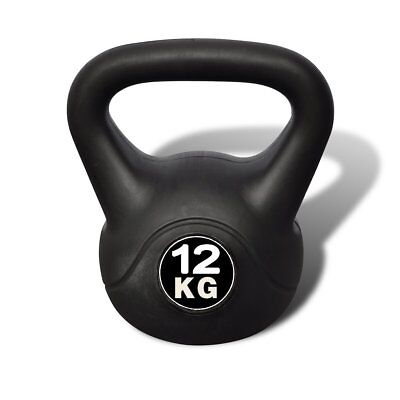 S# Kettle Bell 12KG Training Weight Fitness Home Gym Exercise Kettlebell Dumbbel