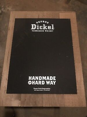 George Dickel Tennessee Whisky Chalkboard Sign