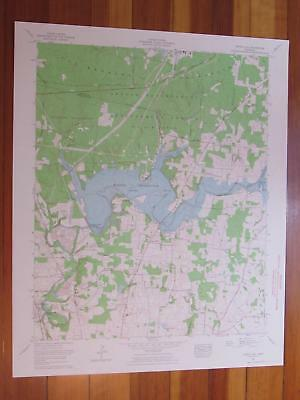 Capitol Hill Tennessee 1964 Original Vintage USGS Topo Map