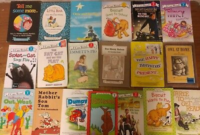 Lot of 50 An I Can Read Child Beginning Learn to Kids Books MIX RL 1 2 3 #B57