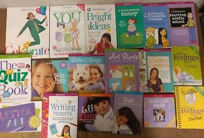 Lot of 30 American Girl Library Doll Collection Care & Keeping History Child B58