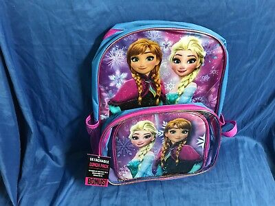 Disneys Frozen Backpack with a free matching lunchbox