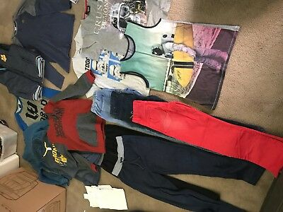 Boys Size 14 to mens small clothing - 24 items