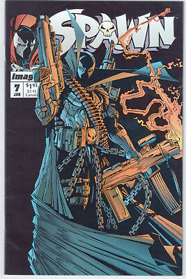 Spawn #7 (1992 Series), Image Comics, Mcfarlane, 8.5 Vf+, Will Combined Shipping