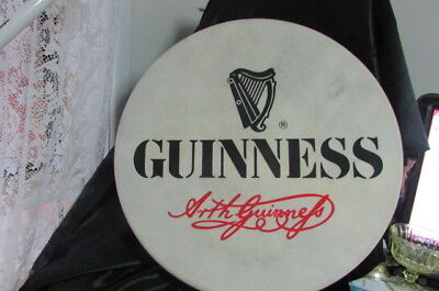 Guinness Waltons 18' Bodhran Drum Goat Skin And Birch