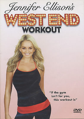 JENNIFER ELLISON ~ WEST END WORKOUT ~ DVD new