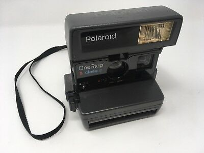 Polaroid One Step Close Up 600 Instant Film Camera TESTED