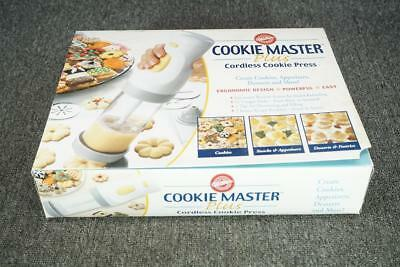 Wilton Cookie Master Plus Cordless Cookie Press With Attachments