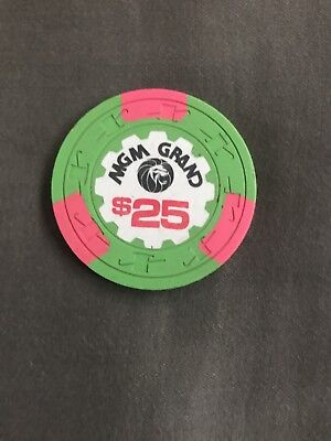 MGM Grand $25 Chip, 3rd Edition