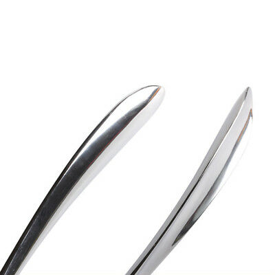 Stainless Steel Durable Long Handle Shoehorn Shoe Horn Lifter Silver