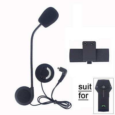Headset Mic/Speaker+Clip for Motocycle Helmet Bluetooth Intercom System COLO FDC